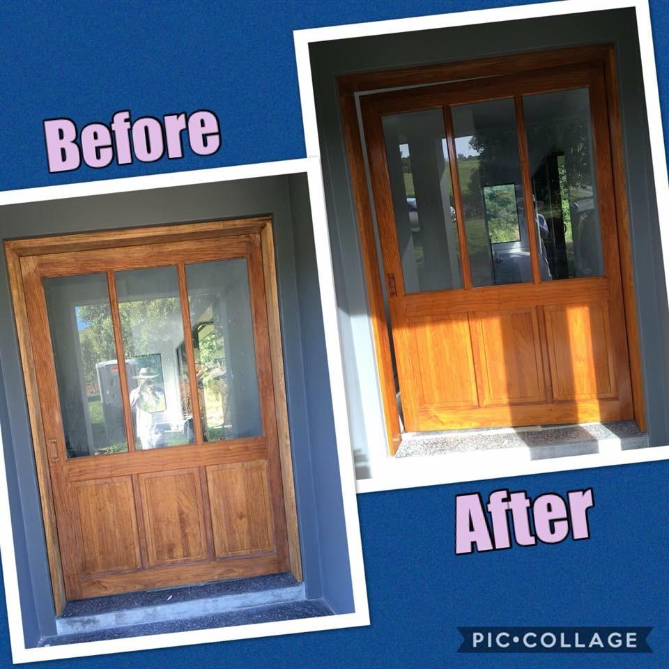 Front Door B&A
