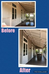 Queenslander re-painting