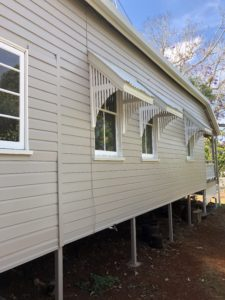 Queenslander re-painting